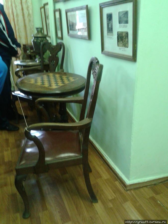В Доме-музее Бекетова