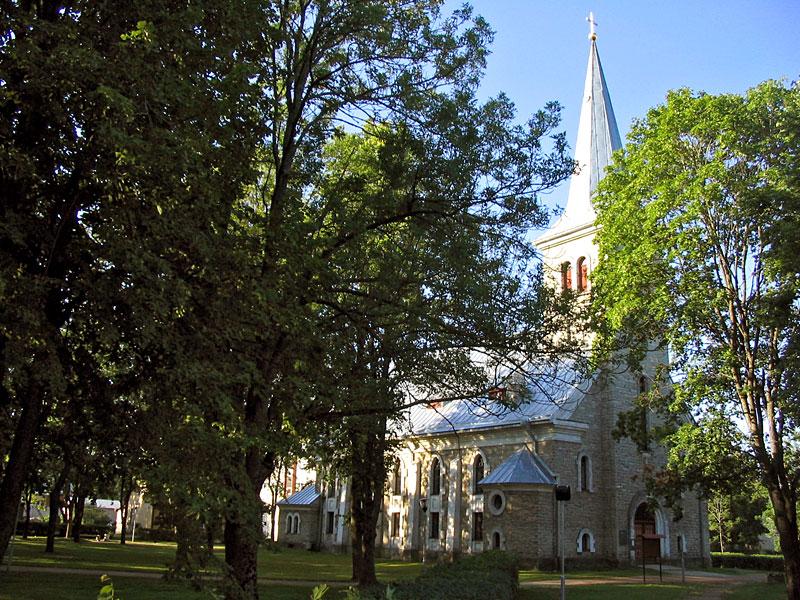 Лютеранская церковь Тапа, Эстония