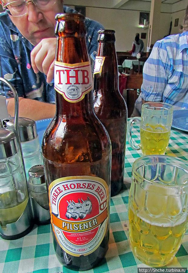 а это самое распространенное пиво Мадагаскара
