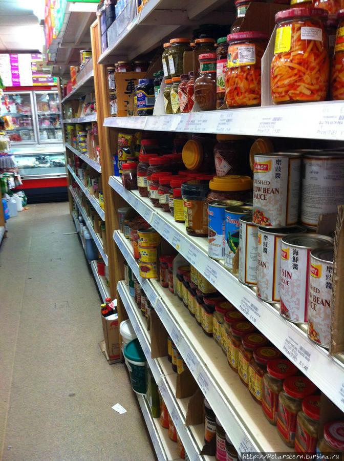 Супермаркет в китайском квартале