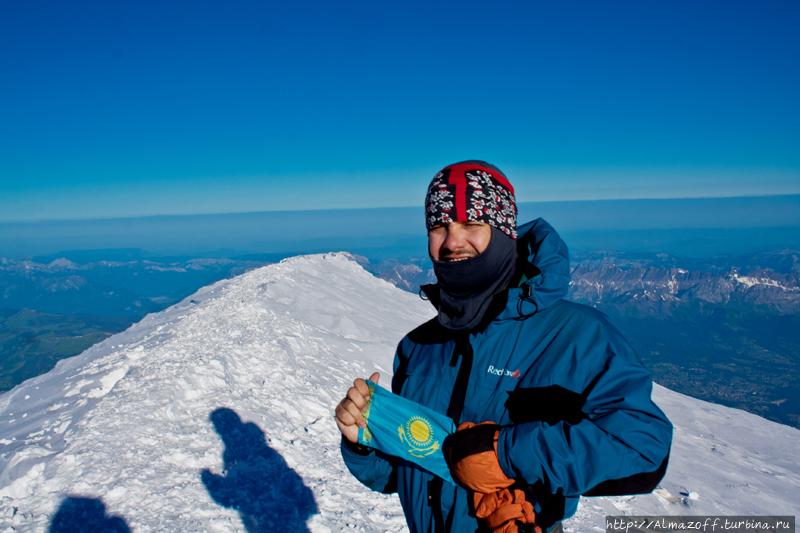 Андрей Алмазов на вершине