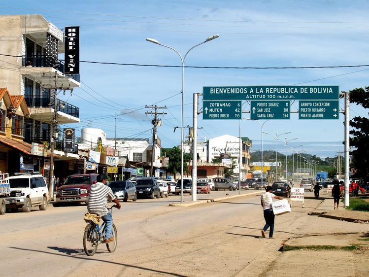 Путь в Боливию открыт