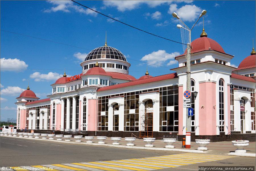 3.Железнодорожный вокзал.