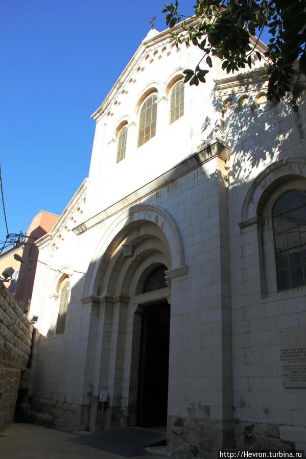 Церковь Святого Иосифа Назарет, Израиль