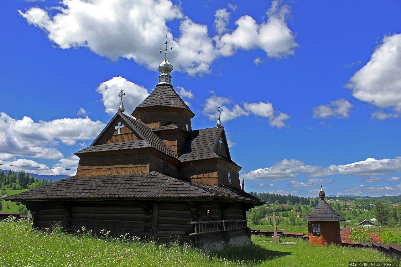Деревянные церкви Карпат... Ворохта