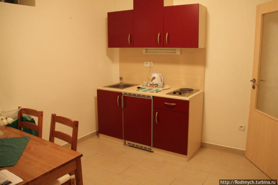 Кухонка в номере