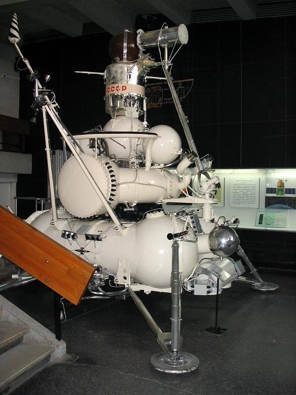 Станция Луна-16, впервые доставившая лунный грунт