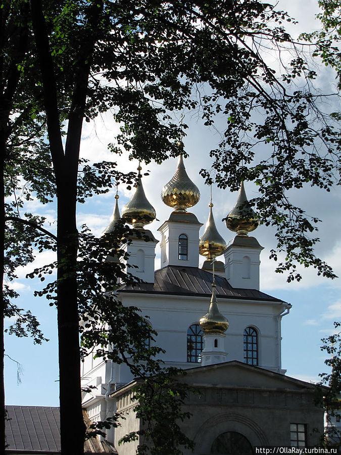 Иваново. Свято-Успенский мужской монастырь. Церковь Успения Пресвятой Богородицы (1843г).