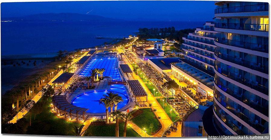 Venosa Beach Resort and Spa 5* Фото с сайта отеля