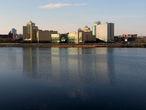 Река Миасс в черте города