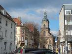Базилика Ст.Иоганн = церковь Иоанна Крестителя построена Фридрихом Иоганном Штенгелем в 1758 году. В 1975 получила статус