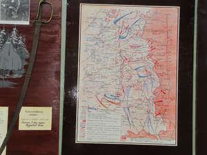 Карта боевых действий Советской армии на Смоленщине