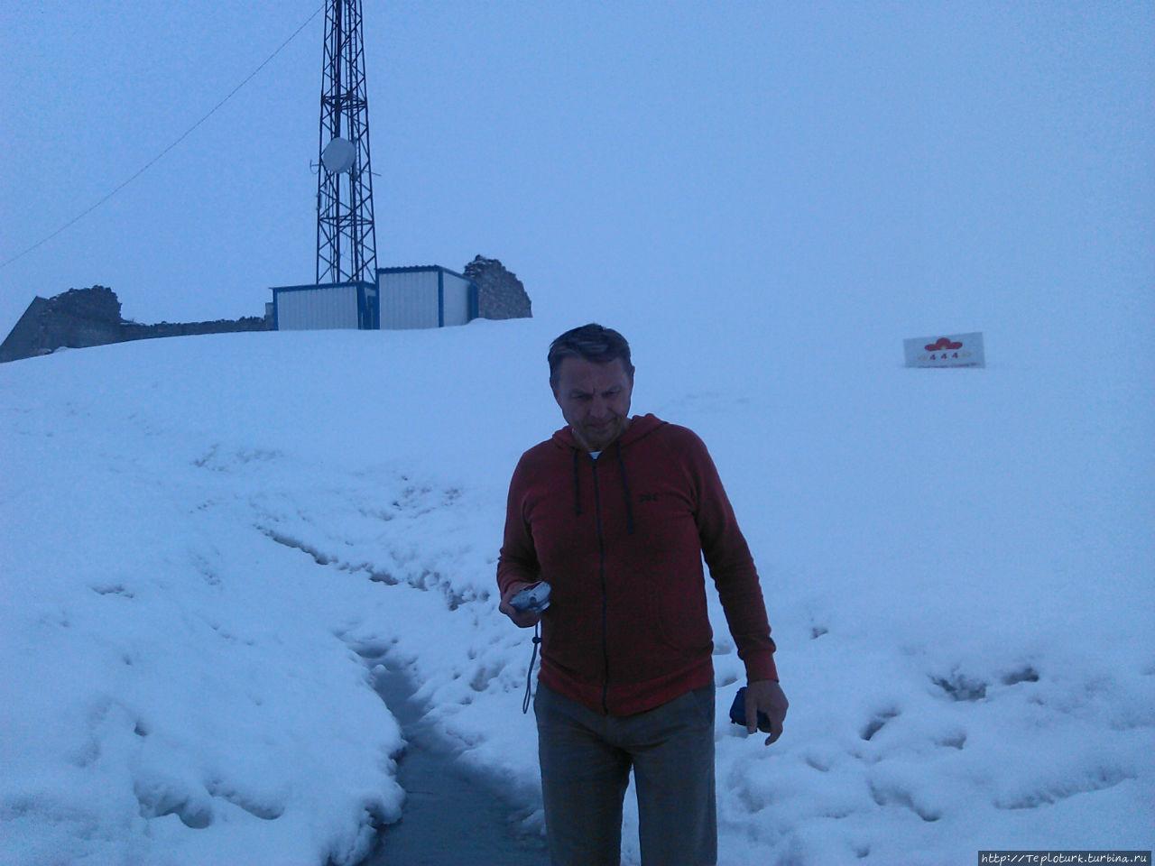 Давно не трогал снег. Алания, Турция