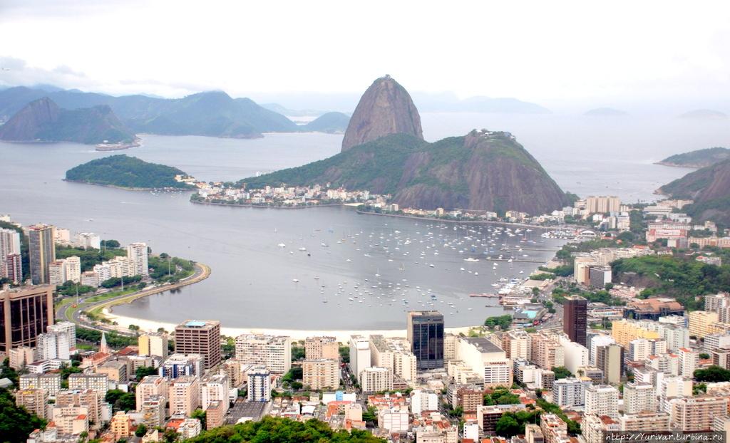 Визитная карточка Рио — с
