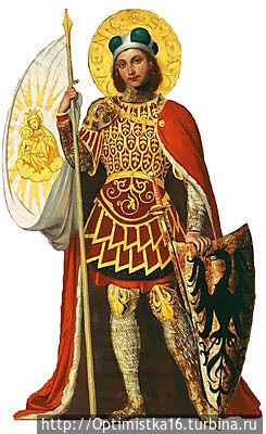 Святой Вацлав — покровитель Чехии. (Фото из интернета)
