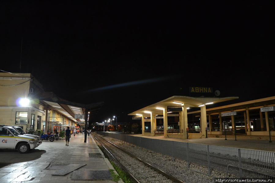10) Ж/д вокзал в Афинах