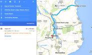Карта маршрута Дар эс Салам (Танзания) — Лилонгве (Малави) с остановками в Малави в Chitimba Beach Lodge и Kande Beach