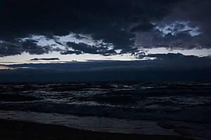 Тревожный вечер на Байкале