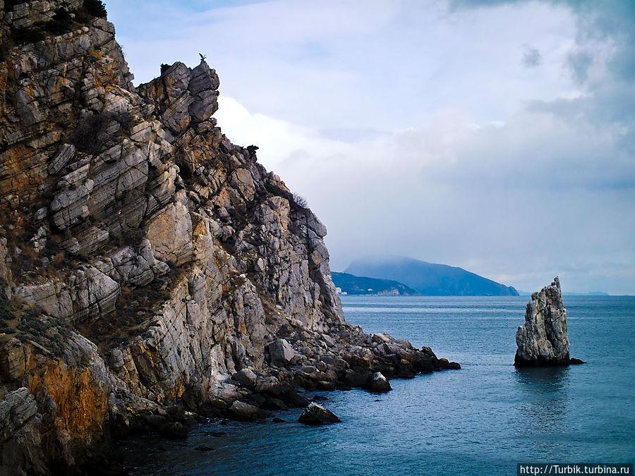 скала Парус Республика Крым, Россия