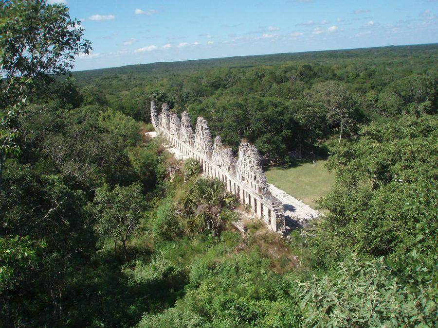 Я в Мексике! Волшебный Ушмаль Ушмаль, Мексика