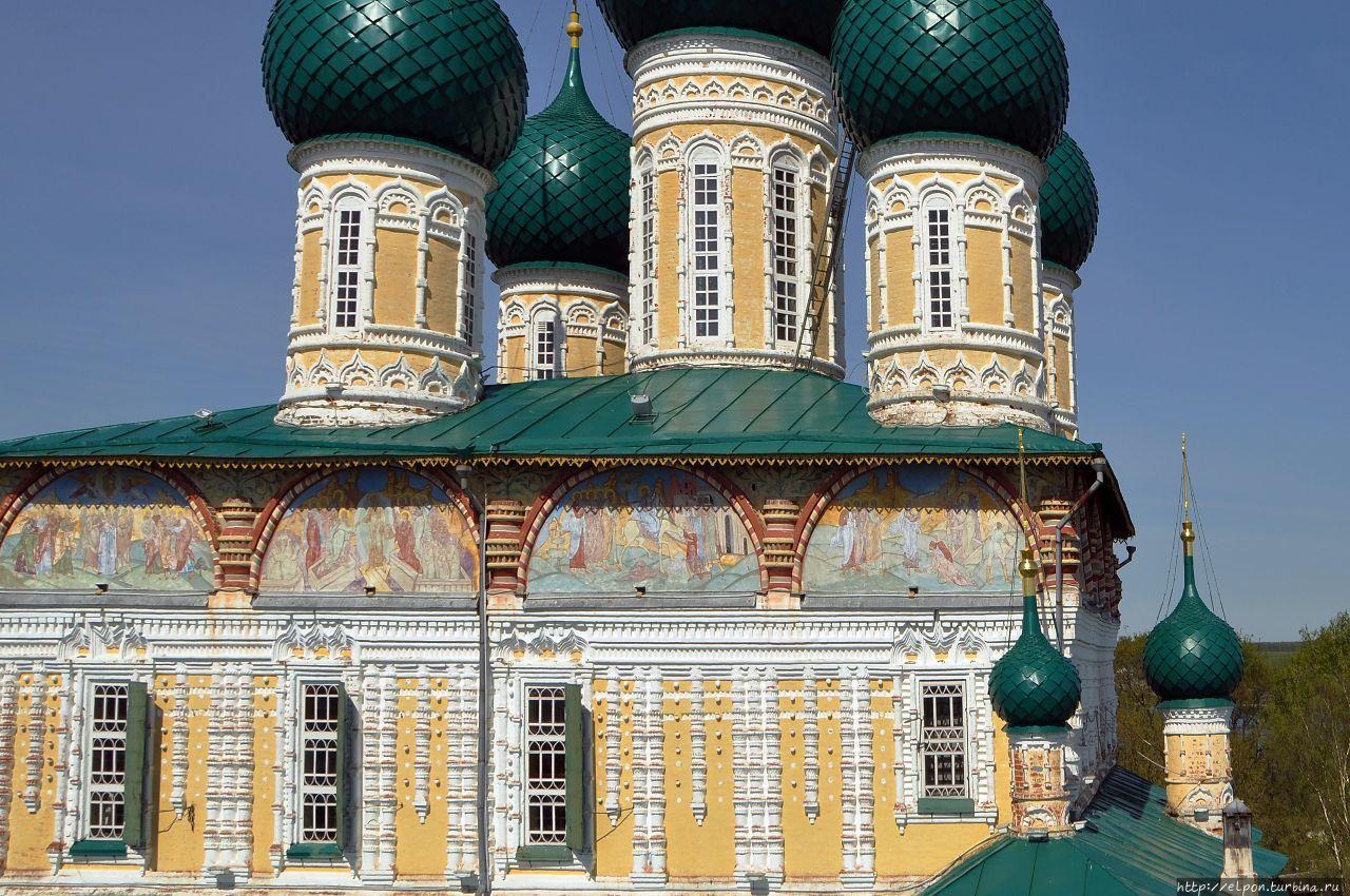 Воскресенский собор Тутаев, Россия