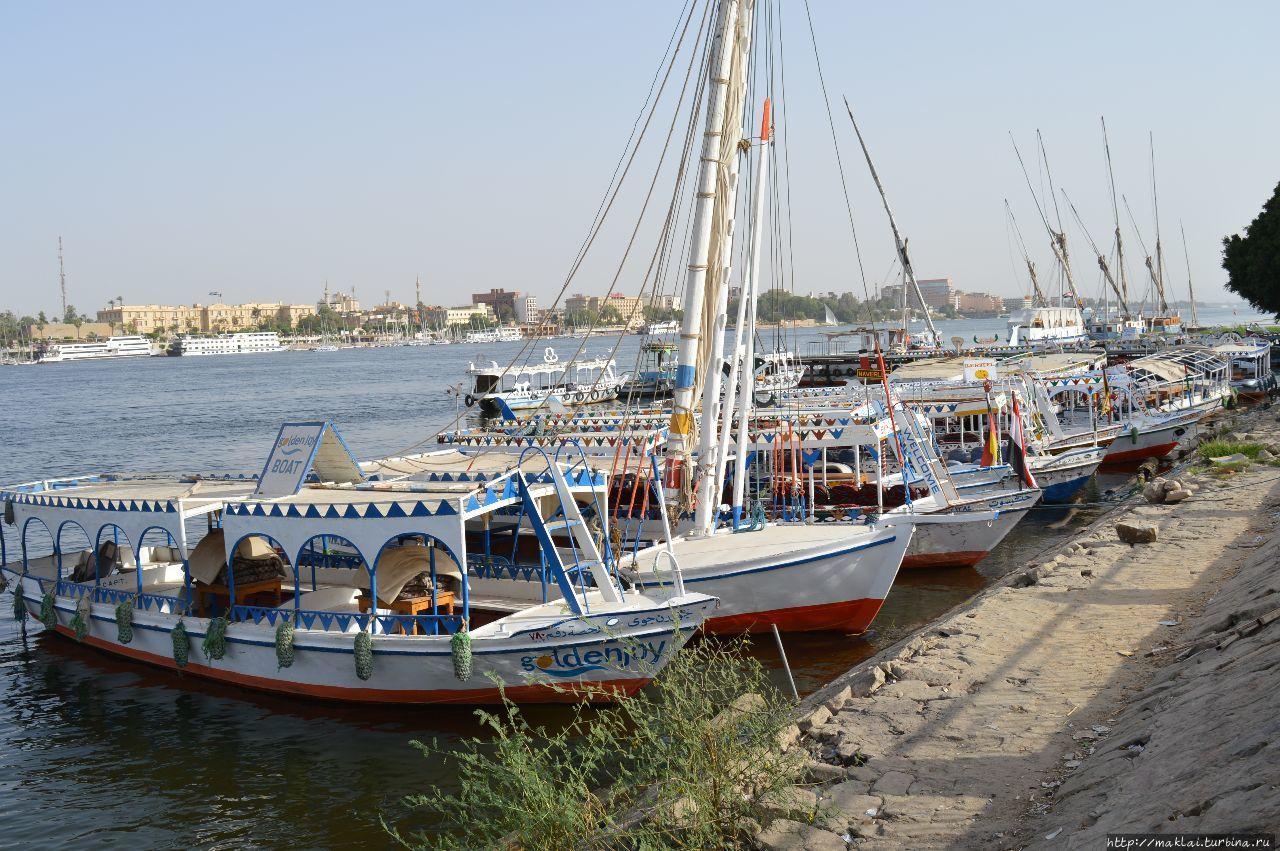 Банановый остров в нагрузку Луксор, Египет