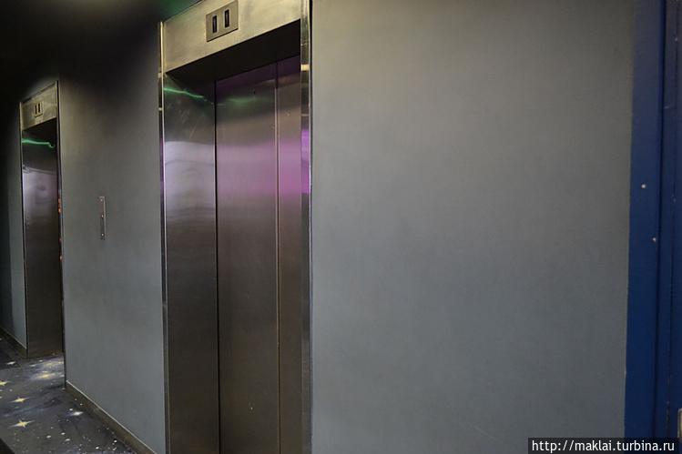 Скоростные лифты.