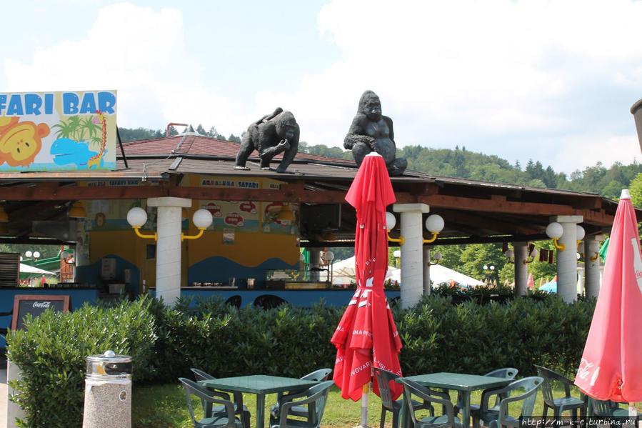 Аквапарк Аквалуна Подчетртек, Словения