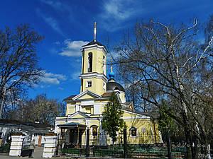 Древнейшая церковь города. Первое упоминание о церкви Космы и Дамиана в селе Болшево относится к 1585 г. Современное здание храма было построено в 1786 г.
