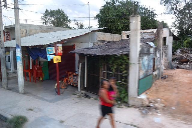 Непарадная Мексика из окн