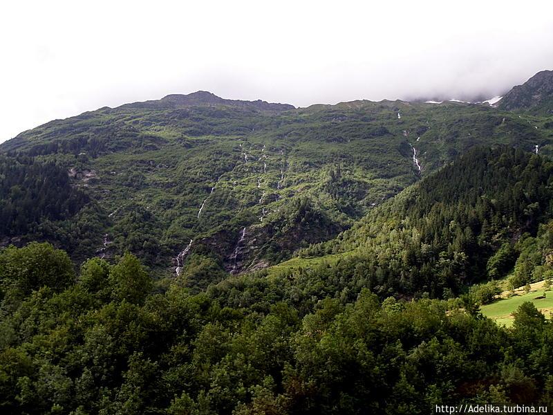 Два перевала до  прекрасного Лугано... Лугано, Швейцария