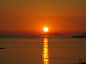 Закат на Адриатике