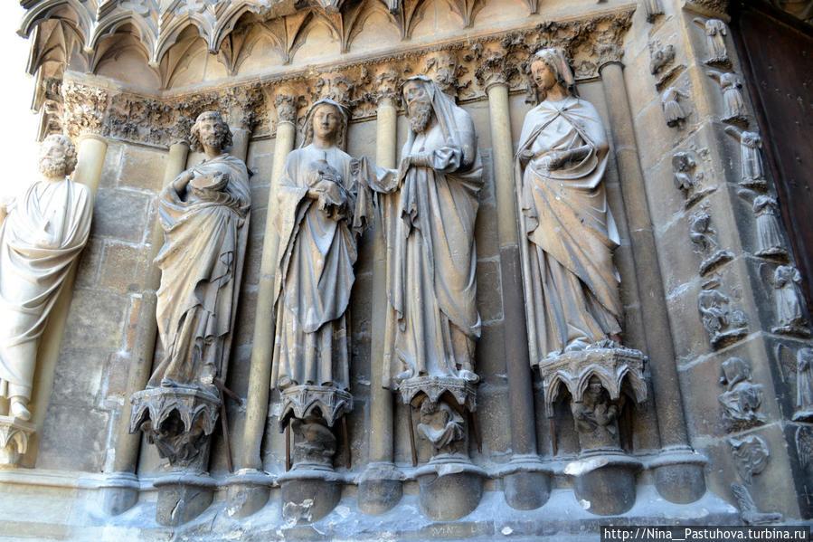 Реймский собор — здесь присягали короли и улыбаются ангелы Реймс, Франция