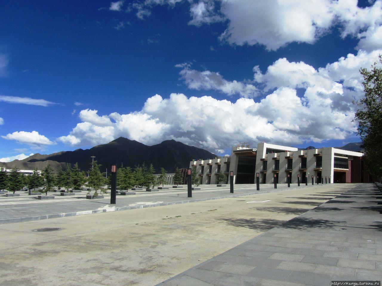 Вокзал Лхасы