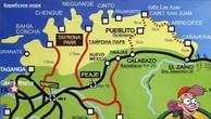 Карта парка Тайрона