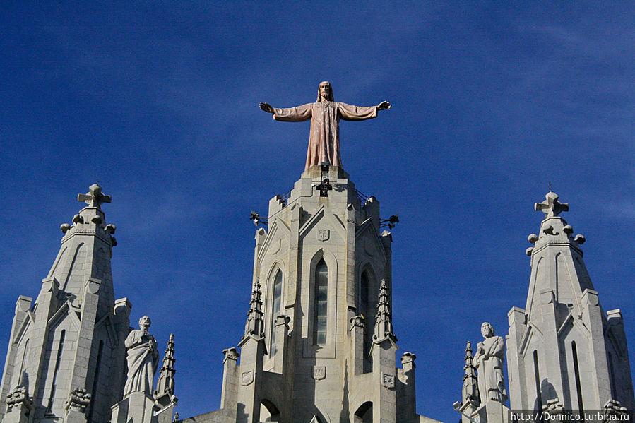 Храм Святого Сердца Барселона  Википедия