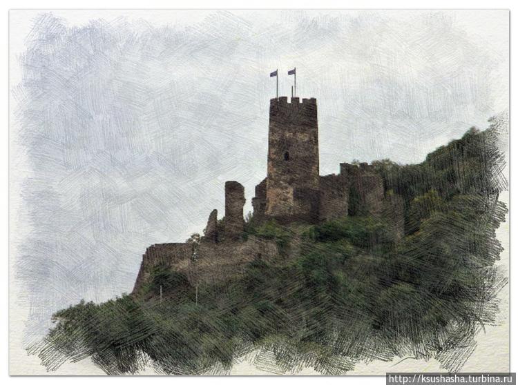 Руины замка Фюрстенберг —
