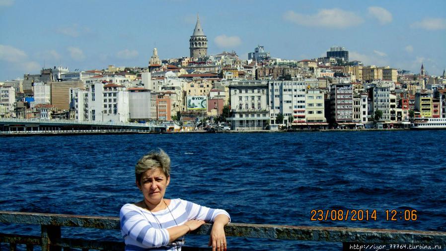 Галатский мост — место рыбных ресторанов Стамбула