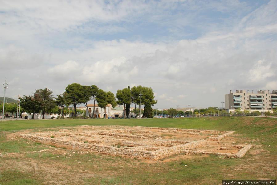 Развалины Villa Romana Сегур-де-Калафель, Испания