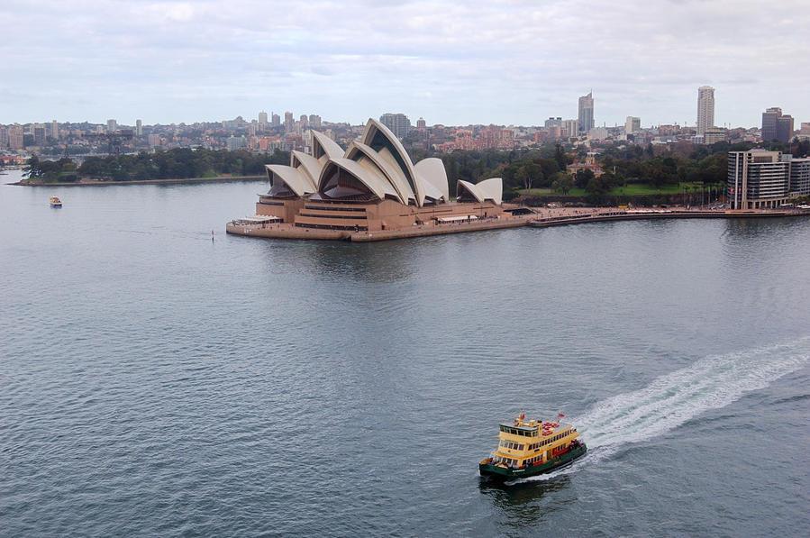 Один день в самом знаменитом городе Австралии Сидней, Австралия