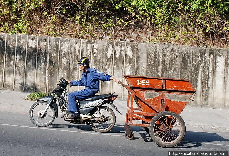 Грохот стоял приличный! Бак был пустой потому что...) Нячанг, Вьетнам