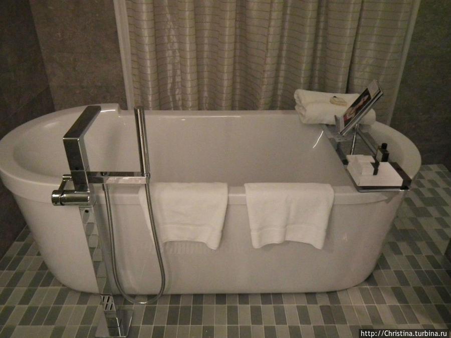 Ванная в нашем номере.