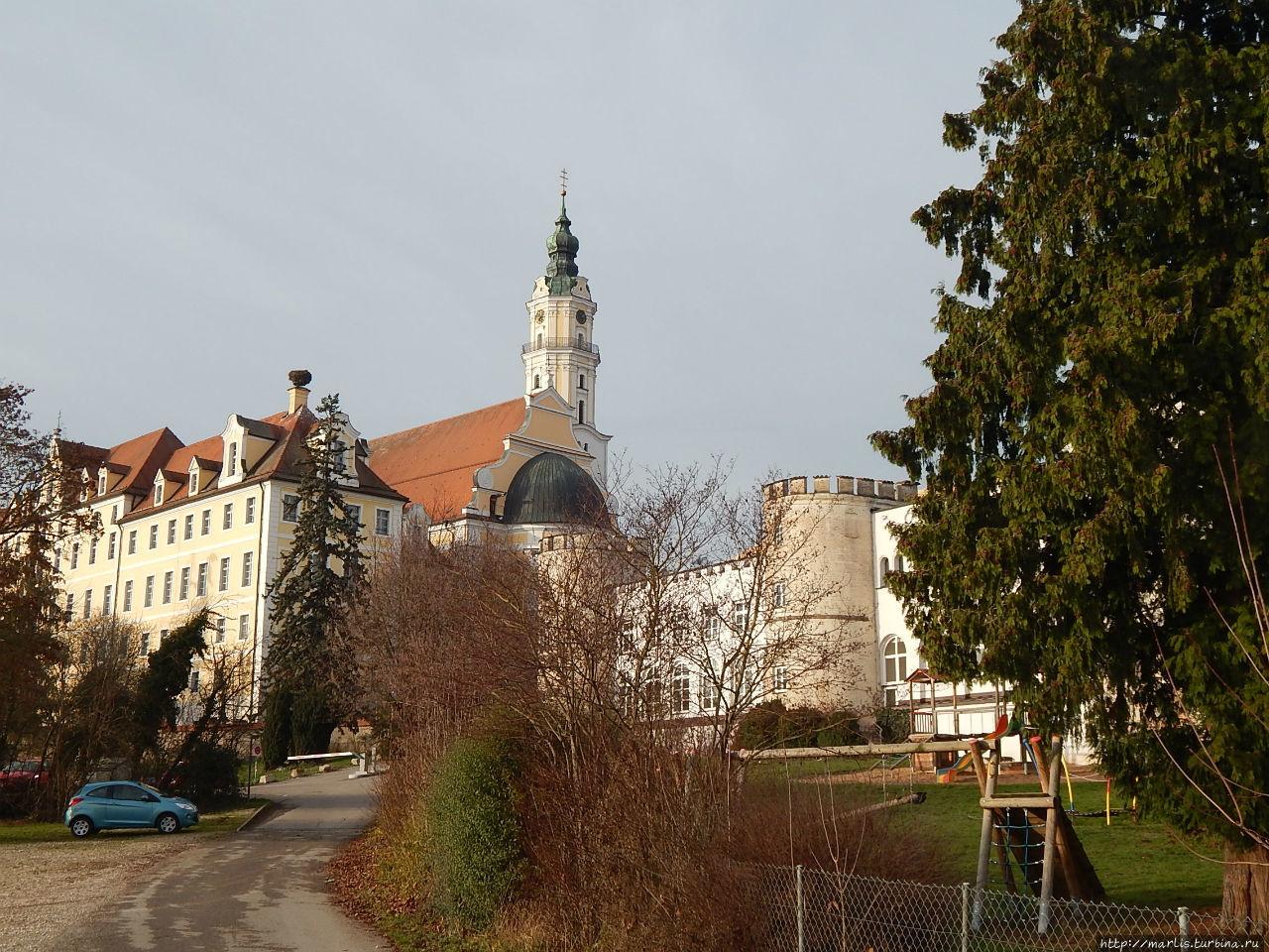 Монастырь святого Креста (обьект N17) Донаувёрт, Германия