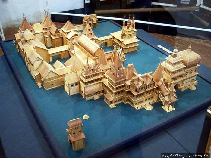 Макет Дворца. Фото из интернета