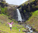 Водопад Флогафосс