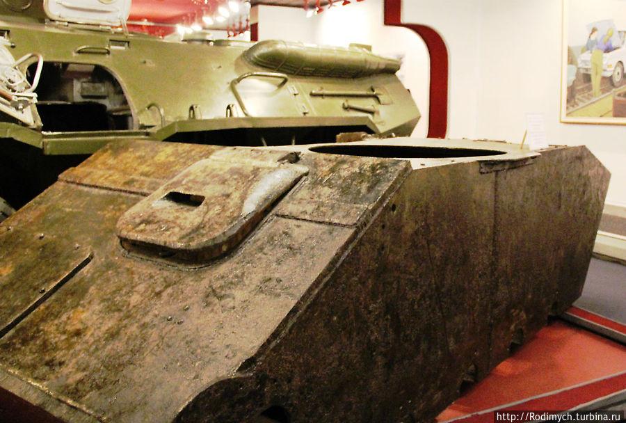 Корпус танка