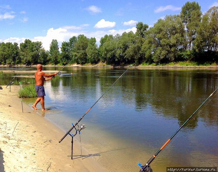 У настоящего рыбака супер