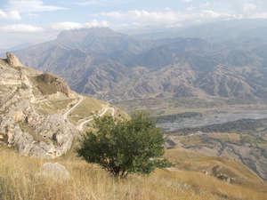 Внизу — река Аварское Койсу