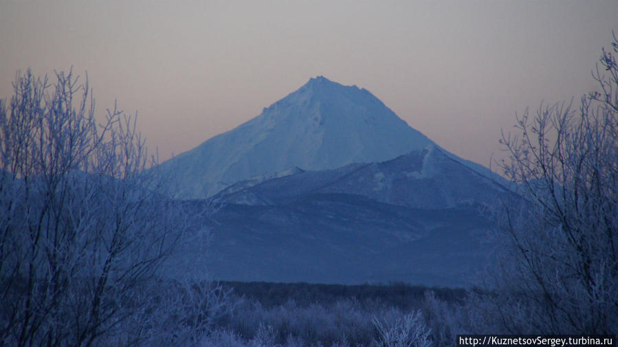 Вилючинский вулкан от Елизово
