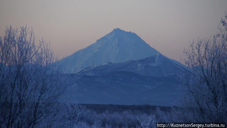 Вилючинский вулкан от Ели